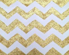 sparkly gold chevron stripes