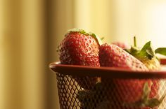 strawberry .. by Dream blink, via Flickr