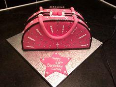 First handbag cake.