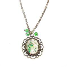 Classic cabochon Pendant Necklace, Classic, Jewelry, Fashion, Derby, Moda, Jewlery, Jewerly, Fashion Styles