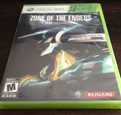 Zone-of-the-Enders-HD-Collection-Microsoft-Xbox-360-2012-NEW-and-SEALED