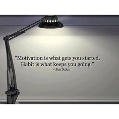 Habit vs Motivation.