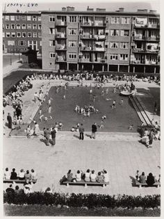 """Pierebadje"" - Kid's 12 inch pool right where I used to live with my flat's across the way..."