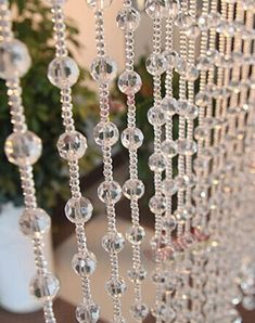 Cheap wedding crystal garland, Buy Quality chain crystal directly from China chain meter Suppliers: 20 Meters/lot Crystal Beads Chain Crystal Round Ball Garland Strand High Quality Wedding Crystal Garland Chain Crystal Garland, Crystal Pendant, Crystal Beads, Glass Beads, Beaded Curtains, Hanging Curtains, Cheap Chandelier, Bedroom Organization Diy, Cheap Beads