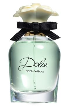 Such a gorgeous scent for spring | Dolce&Gabbana 'dolce' eau de parfum spray.