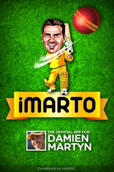 IMarto app - official app for Damien Martyn , former Australian test cricketer. Developed by IndiaNIC