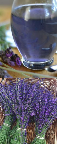 Lavender Simple Syrup For Cocktails. Easy to Make. #lavender #simplesyrup #cocktails #syrup