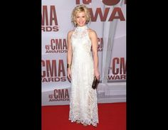 Kimberly Perry of The Band Perry at the CMA's