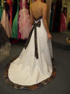 camo wedding dresses Being Beautifully Wild with Camo Wedding Dresses