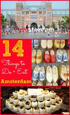 14 Things To Do and Eat in Amsterdam Amsterdam Things To Do In, Visit Amsterdam, Amsterdam City, Amsterdam Travel, Amsterdam Trips, Eurotrip, European Vacation, European Travel, Oh The Places You'll Go