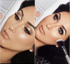 Gorgeous look by Jaclyn Hill with her Morphe palette