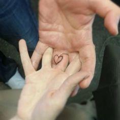 couple love symbol tattoo