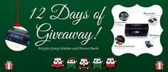 Participate and win a Anypro Jump Starter and Power Bank