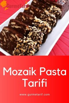 Mozaik Pasta Tarifi Mosaic Cake Recipe – If you like chocolate, this cake is for you. It is very easy to prepare and tastes delicious 🙂. cake the recipe Pasta Recipes, Cake Recipes, Dessert Recipes, Cooking Recipes, Baklava Cheesecake, Recipe Search, Pasta Dishes, Food And Drink, Tasty