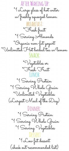 The cleanse Team Taralynn girls will be following for the first two days. Check out the cleanse for example foods!