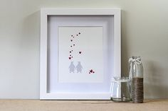 Antarctic Love  A4 Print  Nursery Artwork  by ToodlesNoodles, $27.00