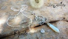 Collana Opale cristalloterapia fata fiori, by Evangela Fairy Jewelry, 18,00 € su misshobby.com