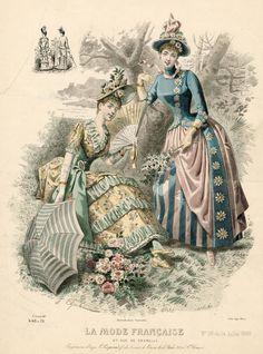 La Mode Francaise 1888