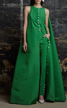 Silk Faille Thumper Gown by Rosie Assoulin for Preorder on Moda Operandi