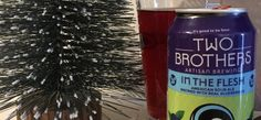 Two Brothers has released their latest beer in their In the Flesh series. The new release is brewed with real blueberries.  Craft beer news   sour beer