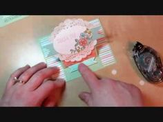 cardmaking video: How to Make an Easel Card ... YouTube video ... So Very Grateful Posy ...