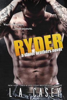 Download Ryder (Slater Brothers #4) Kindle, PDF, eBook, Ryder (Slater Brothers #4) by L.A. Casey PDF, Kindle