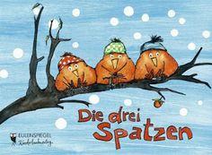 Die drei Spatzen: Amazon.de: Christian Morgenstern, Anke am Berg (Illustr.): Bücher