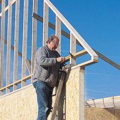 Conseils et étapes d'une construction bois Ladder, How To Plan, Deco, Architecture, World, Pins, Matilda, Creations, Villa