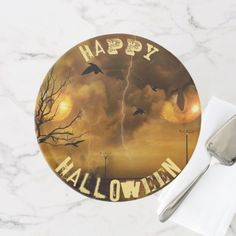 #Happy Halloween Cat Eyes Cake or Cupcake Stand - #Halloween happy halloween #festival #party #holiday