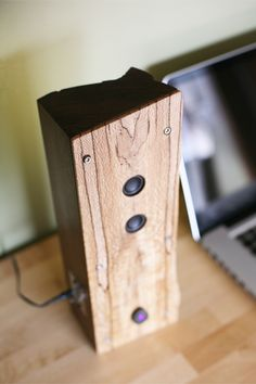Reclaimed Wood Bluetooth Speaker on Behance
