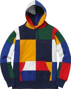 Supreme Patchwork Hooded Sweatshirt | FW17