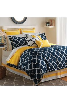 Jill Rosenwald 'Hampton Links' Reversible Comforter available at #Nordstrom