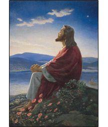 Warner E. Sallman   Christ at Dawn