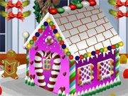 Free Online Girl Games, There's nothing better than relaxing by the fire on a winter's night and creating a gingerbread house!  In Gingerbread House Decoration, you'll have to choose lots of different icings, toppings, and decorations to put on your house!, #dessert #decoration
