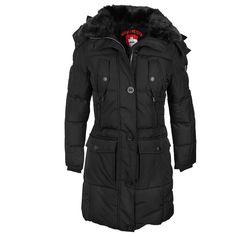 WELLENSTEYN RESCUE team Jacket L 52 schwarz rot Winterjacke
