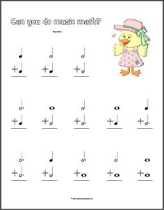 music math worksheets delibertad MATHEMATIC HISTORY Mathematics is among the oldest sciences in human history. Music Lessons For Kids, Music Lesson Plans, Music For Kids, Piano Lessons, Music Math, Music Classroom, Music Theory Worksheets, Math Worksheets, Musik Player