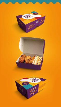 Desenvolvimento do logotipo e identidade visual do Katsu Chicken Box, um restaurante localizado em Fortaleza, que tem como especialidade as coxinhas da asa de frango (drumets) empanadas.
