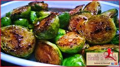 Strong and Beyond: Balsamic Brussels Sprouts