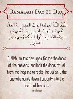 Ramadan karee m Ramadan Dua List, Ramadan Prayer, Ramadan Tips, Mubarak Ramadan, Ramadan Day, Islam Ramadan, Islam Muslim, Islam Quran, Muslim Quotes