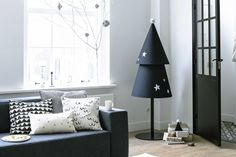 DIY Holidays: 10 Beautifully Modern Christmas Tree Project Ideas