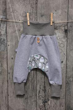 Pumphosen - Pumphose Baby Sweat in *Wunschgröße* - ein Designerstück von RuesselKind bei DaWanda