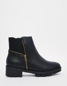 Image 2 of Truffle Collection Kiley Zip Ankle Boots