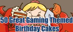 """""""50 great gaming-themed birthday cakes: Zelda, Mario, Pokemon and more!"""" -- Click through for a slideshow. [NOTE: Not everything at click-through is suitable for work or for children.]"""