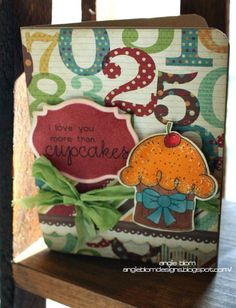 {more than CUPCAKES} stamp of the week from unity stamp company - card created by Unity Design Team Member Angie Blom