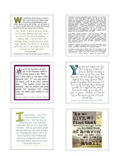 Post-it Note Printables for scriptures