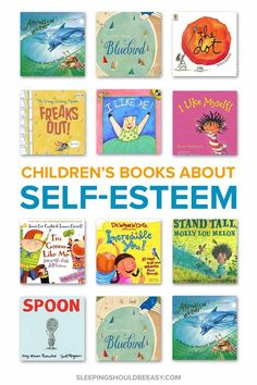 Liking themselves helps children feel happy and succeed in life. You can encourage confidence in your kids and improve how they see themselves by reading children's books about self esteem! Audio Books For Kids, Best Children Books, Toddler Books, Childrens Books, Best Books For Toddlers, Baby Books, Helping Children, Self Esteem Kids, Self Esteem Books
