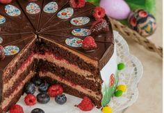 Čokoládová torta s malinami - recept | Varecha.sk Food And Drink, Cake, Desserts, Recipes, Tailgate Desserts, Deserts, Kuchen, Recipies, Postres