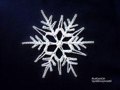 crochet snowflake
