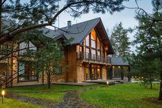 дом из клееного бруса на Карельском перешейке