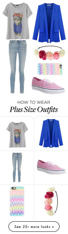 """""""Untitled #254"""" by montana-cellucci on Polyvore featuring Alexander Wang, Charlotte Russe, Vans and Casetify"""